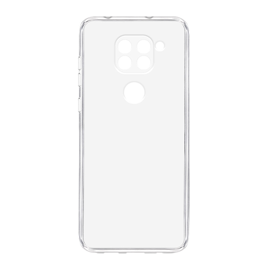 Xiaomi Redmi Note 9 silikonska futrola (Transparent) - Mgs mobil Niš