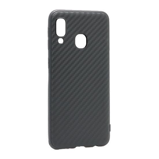 Samsung A20E Carbon light futrola (Black) - Mgs mobil Niš