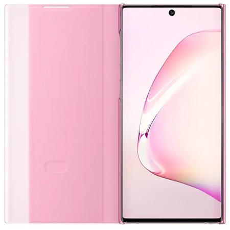 Samsung Note 10 Originalna Clear View futrola (Rose) - Mgs Mobil Niš
