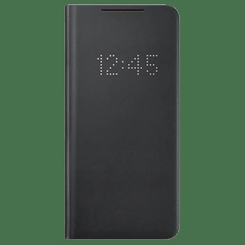 Samsung S21 Plus Originalna LED View futrola (Black) - Mgs Mobil Niš