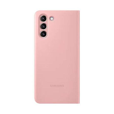Samsung S21 Plus Originalna S-View futrola (Pink) - Mgs Mobil Niš