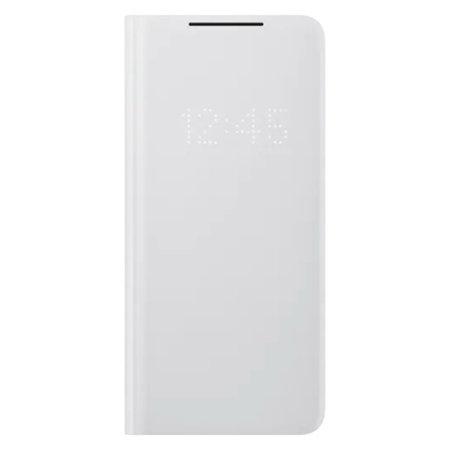 Samsung S21 Ultra Originalna LED View futrola (Grey) - Mgs Mobil Niš