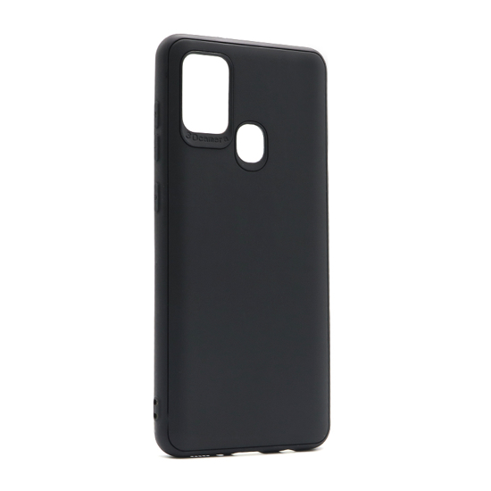 Samsung A21s 3D Soft silikonska futrola (Black) - Mgs mobil Niš