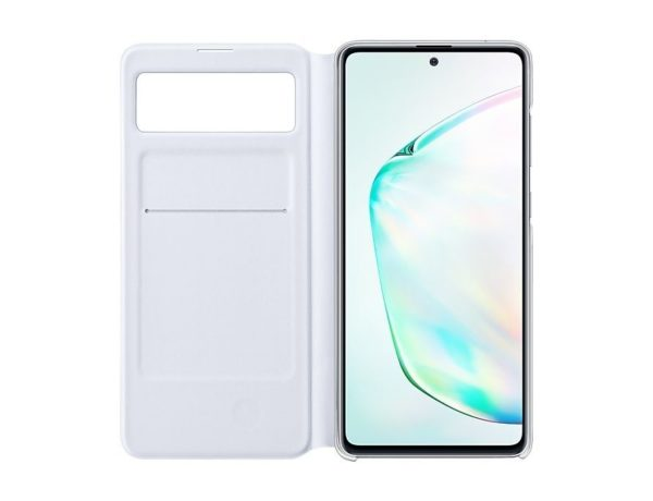 Samsung Note 10 Lite S View futrola (White) - Mgs Mobil Niš