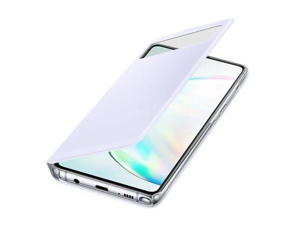 Samsung Note 10 Lite S View originalna futrola (White) - Mgs Mobil Niš