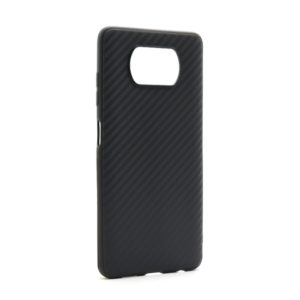 Xiaomi Poco X3 Carbon Light futrola (Black) - Mgs mobil Niš