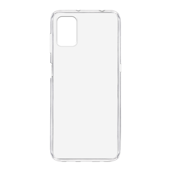 Motorola G9 Plus silikonska futrola (Transparent) - Mgs mobil Niš