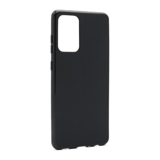 Samsung A72 Crna silikonska futrola (Black) - Mgs mobil Niš