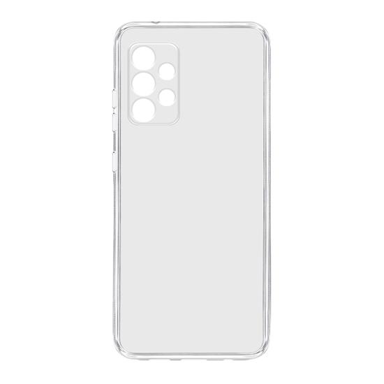 Samsung A72 silikonska futrola (Transparent) - Mgs mobil Niš