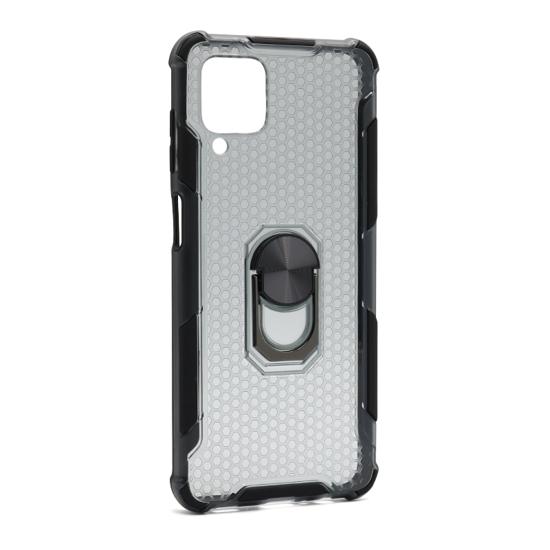 Samsung A12 futrola Defender Ring (Black) - Mgs mobil Niš
