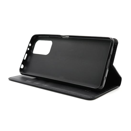 Xiaomi Redmi Note 10 Pro futrola na preklop Hanman (Black) - Mgs mobil