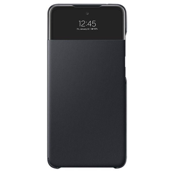 Samsung A72 S View originalna futrola (Black) - Mgs Mobil Niš