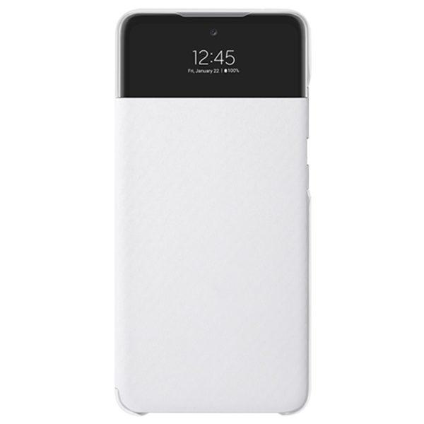 Samsung A72 S View originalna futrola (White) - Mgs Mobil Niš