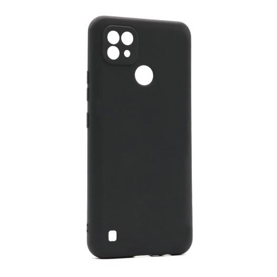 Realme C21 Crna silikonska futrola (Black) - Mgs mobil Niš